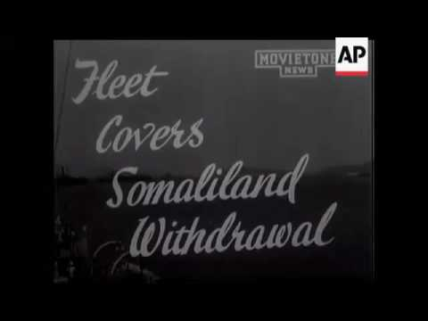 WORLD WAR II - British Somaliland