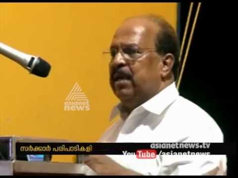 G. Sudhakaran's controversial statement on religious activities at govt programs