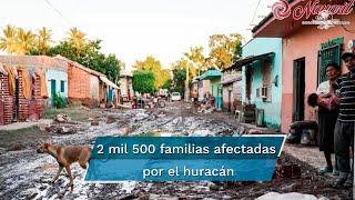 El gobernador del estado señaló que aún hay 8 mil ciudadanos incomunicados o que habitan en comunidades con afectaciones calificadas como graves y al menos mil 200 no cuentan con electricidad