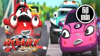 Video Roary the Racing Car Official | 1 HOUR COMPILATION | Full Episodes download MP3, 3GP, MP4, WEBM, AVI, FLV Maret 2018