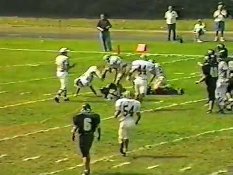 Fitchburg State Football 1997 highlights Part 1