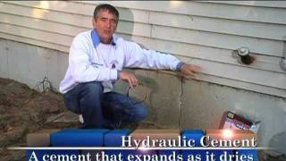 Fixing Foundation Cracks - Outdoor How To From Home Work With Hank