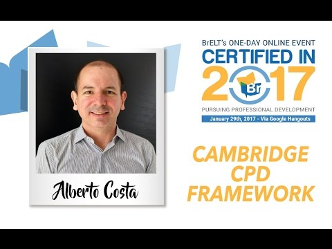 Certifiedin2017: Cambridge CPD Framework with Alberto Costa