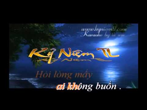 karaoke Dung Nhac Chuyen Long Song Ca Voi Minh Dung