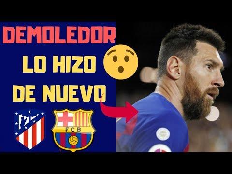 ⚽ Atlético de Madrid vs FC Barcelona. Leo Messi La Volvió A Liar… 🔥  2 de diciembre 2019