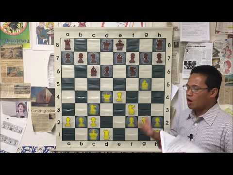 USCF Chess Master Reuben Analyzes the Concept of Blitzkrieg