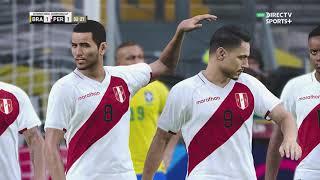 Brasil vs. Peru [4-0] | Copa América 2021 - CONMEBOL - Grupo B | Partido Completo