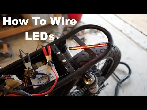 How to Wire Motorcycle LED Lights