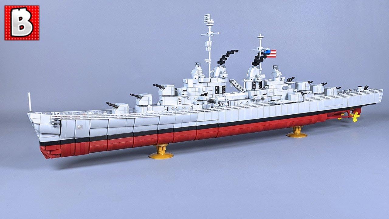 Top Notch LEGO Atlanta-class Cruiser Custom Build!