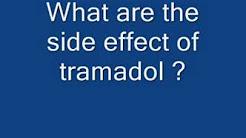 side effect of Tramadol- ordermedseasy