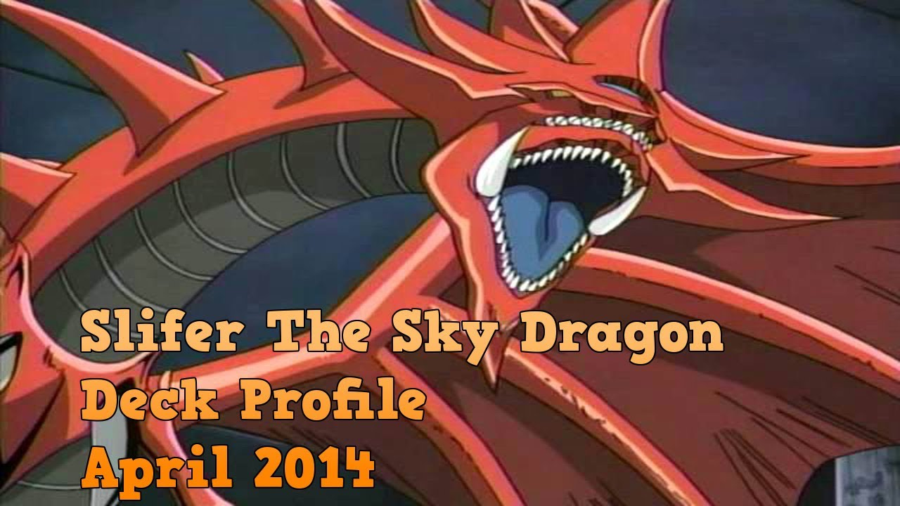 yugioh slifer the sky dragon deck april 2014 youtube