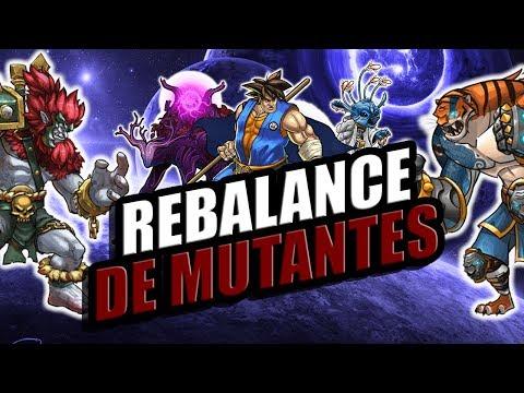 Analisis Re-Balance en Mutants parte 1 - Mutants Genetic Gladiators