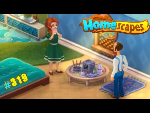 HomeScapes Дворецкий #319 (уровни 2233-2241) Романтический ужин с Кэтрин? Нет, всего-лишь Аромалампа