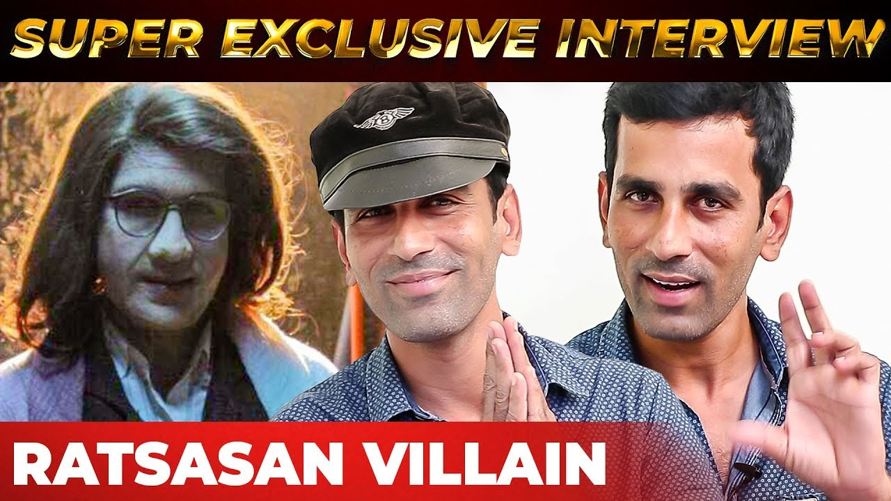Ratsasan Villain Christopher's FIRST Interview | Saravanan | RS 60