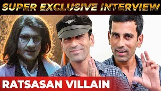 Ratsasan Villain Christopher's FIRST Interview | Saravanan