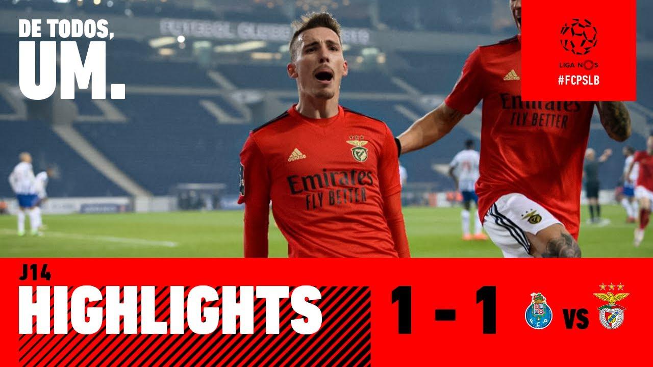 Resumo Highlights Fc Porto 1 1 Sl Benfica Youtube