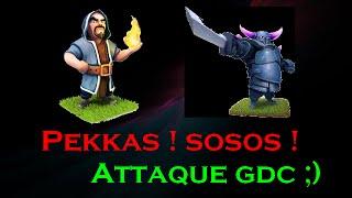 GDC ! Une attaque déstabilisante [ Clash of Clans]