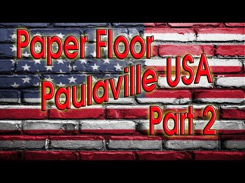 Paper Bag Floor? Not your average Brown Paper Bag Floor