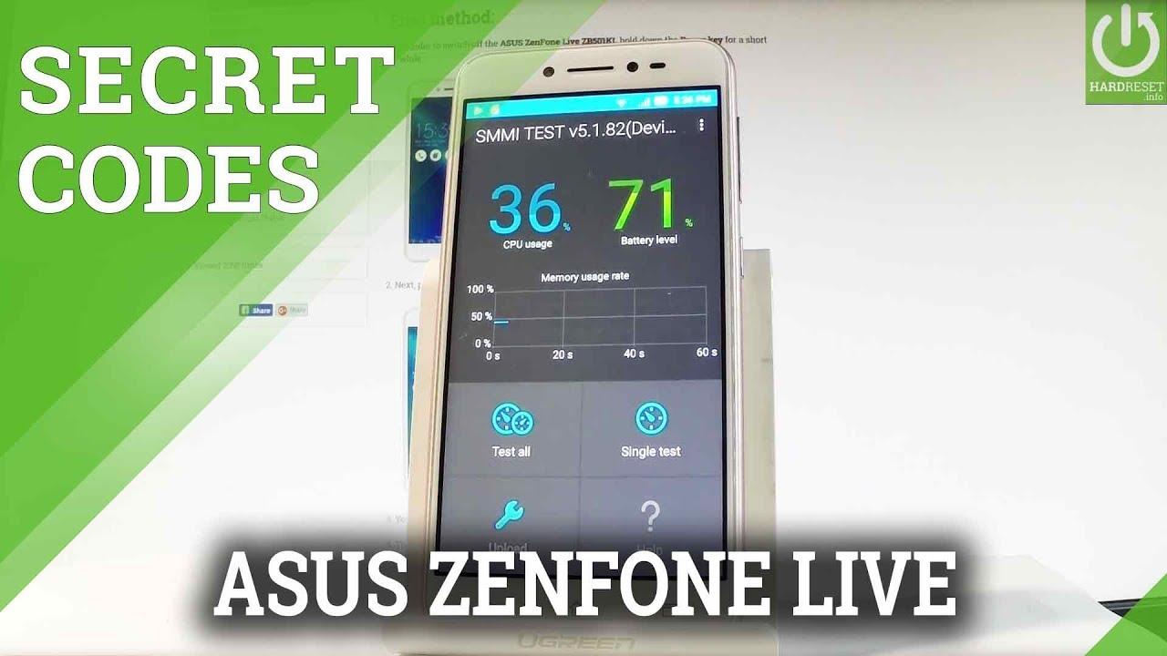 Asus Zenfone Live ZB501KL Codes Videos - Waoweo