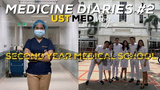 SECOND YEAR MEDICAL SCHOOL (+Med Christmas Party!): UST, Philippines | Kristine Abraham