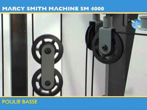 Marcy Máquina Smith Deluxe SM4000