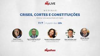 WEBINAR - Crises, Cortes e Constituições