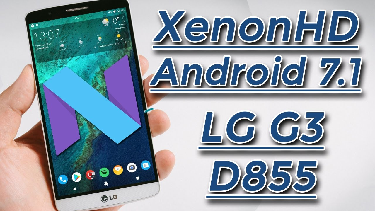 lg g3 android 7 rom