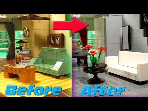 LEGO House Flipping Stop Motion