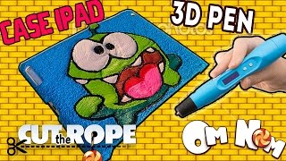 АМ НЯМ  3d ручка рисуем ЧЕХОЛ ДЛЯ АЙПАДА /  3d pen cut the rope om nom ipad case(3д ручка +подарки тут https://goo.gl/Uf09WC 3d pen cut the rope om nom ipad case / АМ НЯМ 3d ручка рисуем ЧЕХОЛ ДЛЯ АЙПАДА / Конкурс внут..., 2016-06-03T09:49:07.000Z)