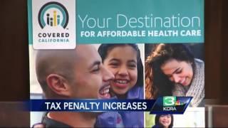 Uninsured Californians Pay Hefty Tax Penalty