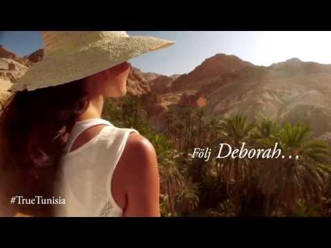 #TrueTunisia - Följ Deborah...