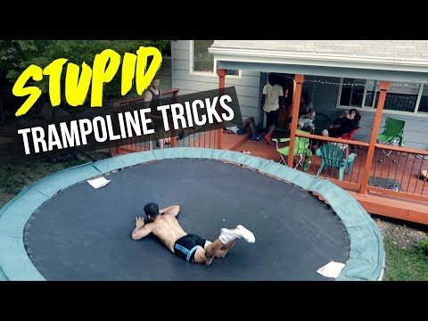 Thumbnail: STUPID TRAMPOLINE TRICKS!!