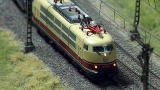 Die größte Modelleisenbahn in Süddeutschland ist die Modellbahnwelt Odenwald