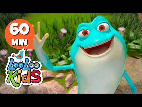 The Frog Song - Educational Songs for Children | LooLoo Kids