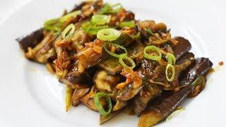Spicy eggplant (香辣茄子:Xiang la qie zi) - Macdull's mom