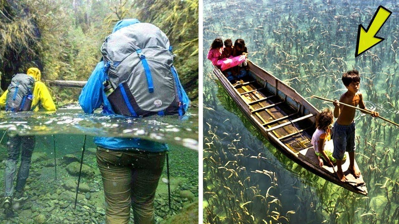 এত পরিষ্কার জল পৃথিবীর আর কোথাও পাবেন না | 10 Beautiful Places- Most Crystal Clear Waters on Earth