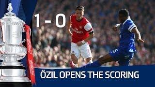 Mesut Özil goal: arsenal vs everton 4-1 fa cup sixth round hd
