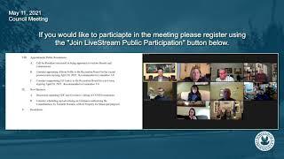 May 11, 2021 Phoenixville Borough Council Meeting