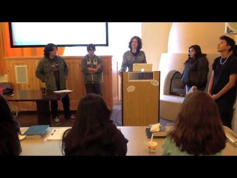 Santa Fe Indian School Writing Center: A Journey to Understanding