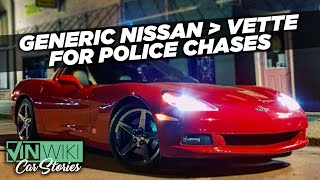 Sacrificing the decoy in a loaner car police chase