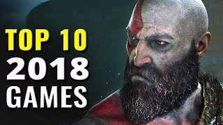 Top 10 Most Anticipated Games for 2018
