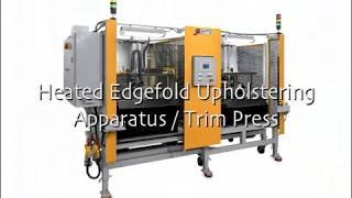 Heated Edgefold Upholstering & Trim Press thumbnail