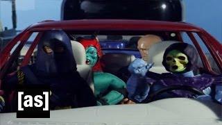 Villain Car Pool | Robot Chicken | Adult Swim