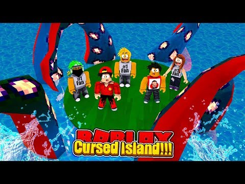 ROBLOX - TRAPPED ON CURSED ISLAND WITH FANS!!