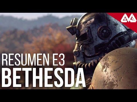 Resumen conferencia Bethesda E3 2018 thumbnail