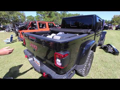 New 2020 Jeep Gladiator Rubicon | Review of ARB Cooler FRIG & Warn Winch - REVIEW