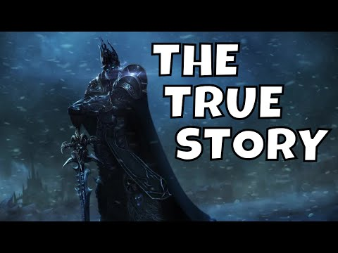 The True Story Of Arthas, The Lich King! - (Warcraft Lore)