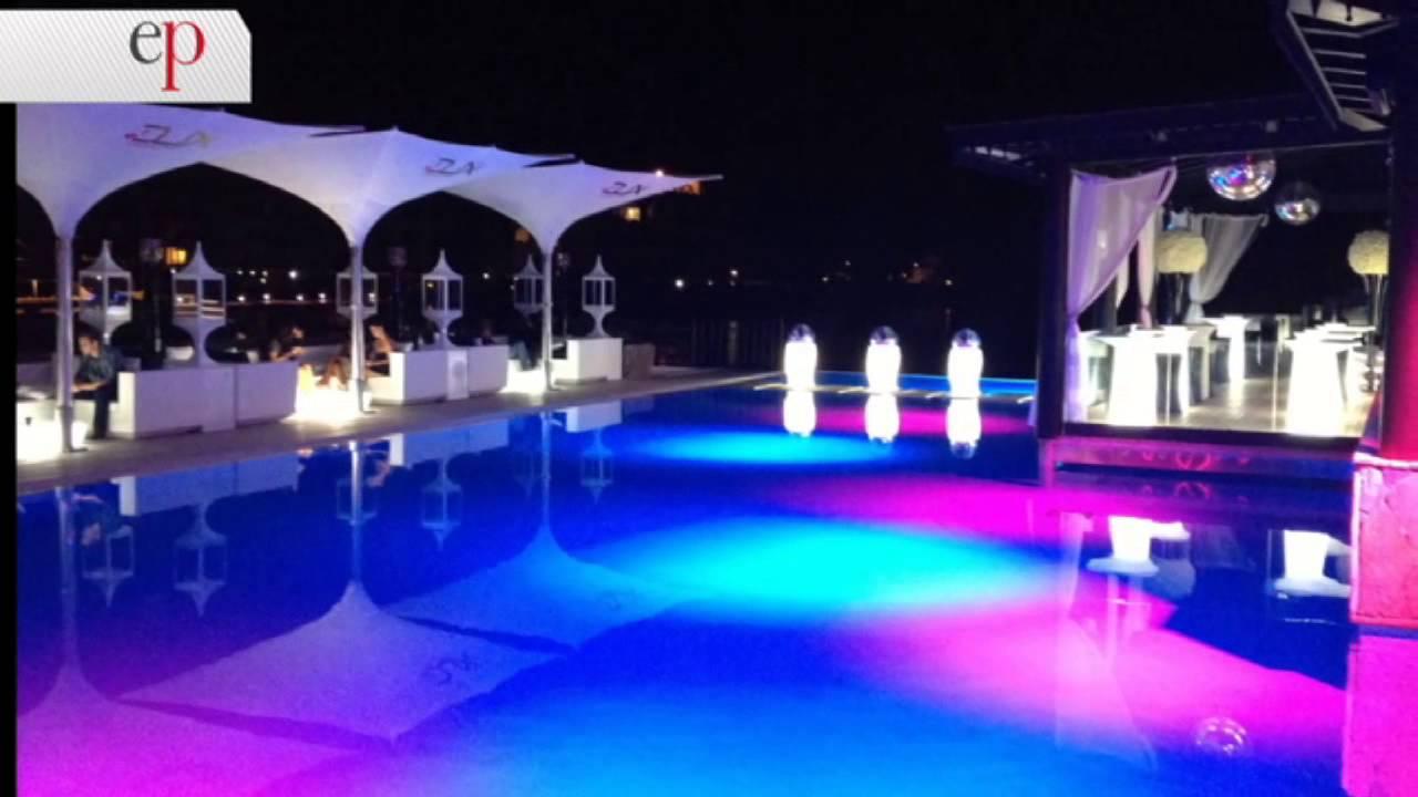 Estilo propio paisajismo iluminacion de piscinas youtube for Paisajismo para piscinas
