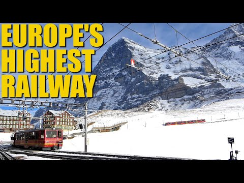 Jungfraubahn: The Highest Railway In Europe (& How It Was Supposed To Go Even Higher)