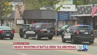 Employee killed in shooting at Battle Creek business; shooter sought